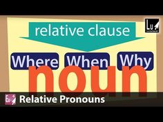Relative Pronouns Song – Learn Grammar – Learning Upgrade - YouTube