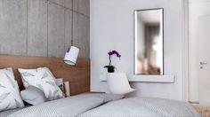 Duża, komfortowa sypialnia