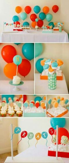 Ideas de globos para un Baby Shower