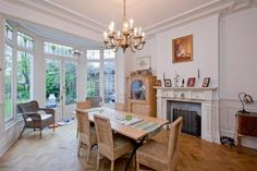 6 bedroom detached house to rent in Seagry Road, Wanstead, London, England - Rightmove Property For Rent, Detached House, Renting A House, Dining Table, Spaces, London, Orange, Bedroom, Kitchen