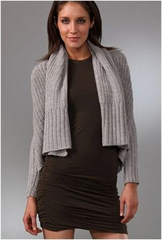 Throw on a cardie without looking dowdy! #WAHM | #WorkAtHome | #Fashion: http://youlookfab.com/2010/10/26/how-to-layer-cardigans-over-dresses/
