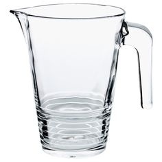 IKEA - VÄNLIG, Pitcher, Can be stacked inside one another to save space in your cabinets when not in use.