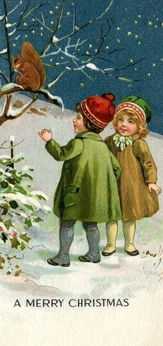 -through the silent snow, we heard a nibble, nibble and glimpsed him there on the frosted branch:ceeanne.