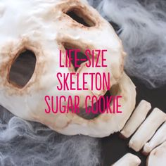 Bring your cookies back from the dead with these Life-Size Skeleton Cookies.