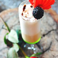 Lover's delight - a sweet blend of creme made of Amaretto and Kalhua from Sandos Finisterra Los Cabos. #Cabo #Cocktail #Travel