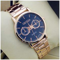 luxusné a elegantné zlaté hodinky GENEVA
