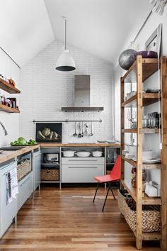 Кухня без верхних шкафов [75+ потрясающих идей!] #2017