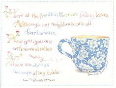 Teacup saying