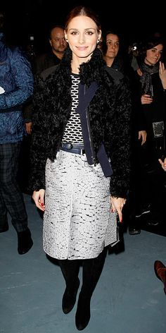 Look of the Day - March 1, 2014 - Olivia Palermo in Nina Ricci #InStyle
