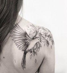 Elegant back shoulder piece by Olga Koroleva