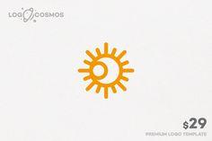 Eclipse - Moon & Sun Logo by Logo Cosmos on Creative Market