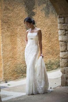 Wedding dress Pronovias. Vestido de novia Pronovias.