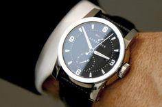 Sinister timepiece