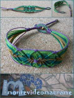 fabric craft: BRACELETS MACRAME
