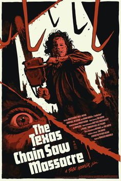 Th Texas Chainsaw Massacre — a landmark horror film, featuring the earliest (?) use of shaky eyewitness camera style.
