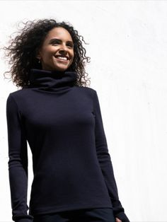 """Ultra comfortable Merino Sweater, to run out and """"hangout"""". Feel flexible, be relaxed. Travel Light, Travel And Leisure, Jogging, Best Sellers, High Neck Dress, Turtle Neck, Sweaters, Outfits, Clothes"""