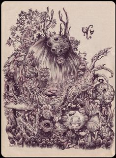 Forest Monsters - Stan Manoukian