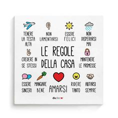 Baby Corner, Sweet Corner, Italian Phrases, Home Camera, Love Rainbow, Italian Language, Wallpaper Iphone Cute, Typography Quotes, Wall Quotes
