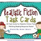 Realistic fiction is such a fun genre to teach! This set of Realistic Fiction Task Cards allows students the opportunity to reflect on their readin...