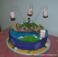 Tangled Party - Cake