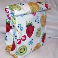 Insulated Lunch Sack - Step by Step Tutorial - PURSES, BAGS, WALLETS