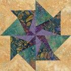 Tampa Whirlwind Quilt Block Pattern