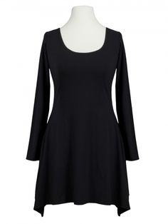 Damen Tunika Shirt, schwarz von Boris bei www.meinkleidchen.de