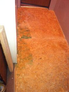 granite flooring particle board floor turned into a stone granite floor, concrete masonry, diy renovations projects, flooring