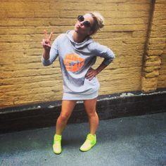 "Krista Siegfridsin Me We Hupparimekko * ""I just LOVE this new college dress! So cool and comfortable! -K"" * ekologisesti & eettisesti tuotettu, laadukas ja ihana * #lips #kristasiegfrids #mewestyle www.mewe.fi"