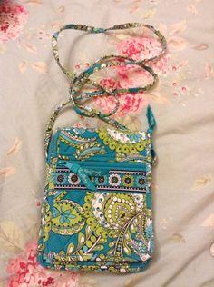 Vera Bradley Crossbody Mini Hipster pattern Peacock purse bag