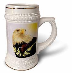 SmudgeArt Bird Art Designs - Eagle Spirit - Spiritual Protection - 22oz Stein Mug (stn_101122_1) 3dRose http://www.amazon.com/dp/B014E0CM2K/ref=cm_sw_r_pi_dp_k48bwb0P6T6XF