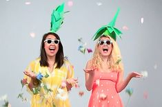 Ready to look too awesome for words this Halloween? We've made our five favorite costume pairs for you and you're BFF, and they're super easy to make! | Impossibly Cute DIY BFF Halloween Costumes