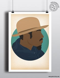 Andre 3000 Minimal Posters by Posteritty #HipHopHeads #HipHop #MinimalDesign #PosterittyStyle #Posteritty #Andre3000 #Outkast