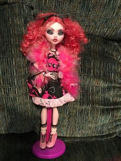 Monster High Custom OOAK Cupid Valentine's Day Diva Doll Highly Detailed #DollswithClothingAccessories