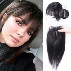 Hair Extensions For Short Hair, Clip In Hair Extensions, Human Hair Clip Ins, Remy Human Hair, Twist Braid Hairstyles, Hairstyles With Bangs, Color Note, Hair Afro, Hair Toupee