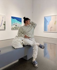 Chill Outfits, Cute Comfy Outfits, Trendy Outfits, Tomboy Fashion, Streetwear Fashion, Fashion Outfits, 90s Fashion, Koleen Diaz, Winter Fits