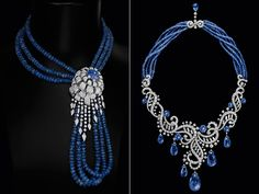Cartier...I love this, especially the way it is gathered in the left hand picture.