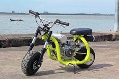 Custom Mini Bike, Scooter Custom, Custom Bikes, Mini Motorbike, Motorcycle Bike, Vespa 50 Special, Go Kart Buggy, Honda Scooters, Go Kart Plans