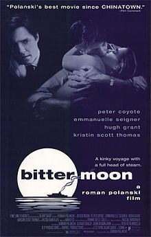 During a series of flashbacks, Oscar recounts how his and Mimi's love developed and took a darker turn. They explored bondage, sado-masochism and voyeurism. Slowly, their self-absorbed relationship decayed, and the bored Oscar tried to break-up with Mimi. She begged him to let her live with him under any conditions, and he took advantage of the opportunity to explore sadistic fantasies at her expense.