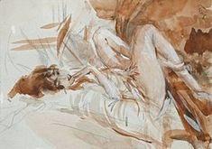 Giovanni Boldini - Reclining Lady