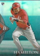 2014 Bowman Platinum Blue #78 Billy Hamilton, Cincinnati Reds RC