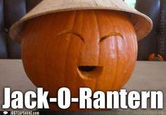 racist pumpkin