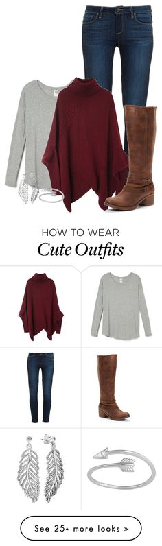 """""""Cute outfit. -Grace"""" by isongirls on Polyvore featuring Paige Denim, Pandora, cute, graceisonwouldwear and beldesigns16"""