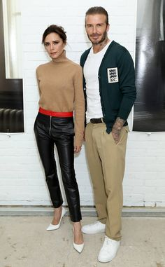 Victoria Beckham & David Beckham from The Big Picture: Today's Hot Photos  The stylish coupleattend the Kent & Curwen Fashion Showin London.