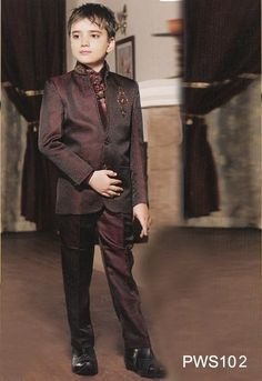 Wine Party Wear Suit - Party Wear Suits - Designers