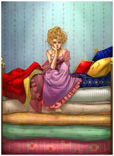 The Princess and the Pea by Alicechan.deviantart.com on @deviantART