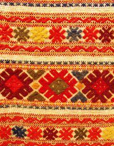 Transylvanian embroidery.