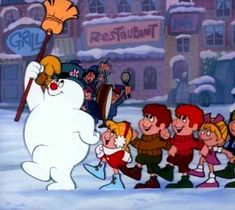 Christmas wasn't Christmas without Frosty the Snowman, and we only got one chance each year to watch it ...