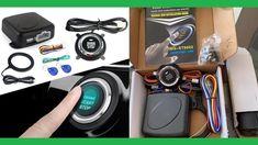Best Car Smart Alarm System Push Engine Start Stop Button Lock Ignition ...