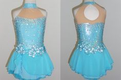 Competition Dress TS118 [TS118] - $149.95 :: Tina's Skate Wear - Custom Make-to-Fit Skating Dresss, Figure Skating Dresses, Baton Twirling/Dance Costumes.